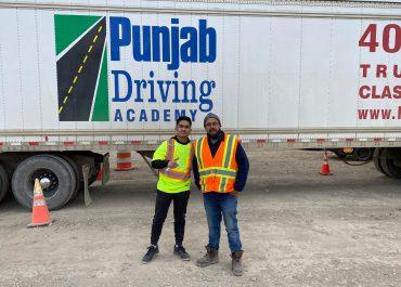 punjab driving academy calgary student