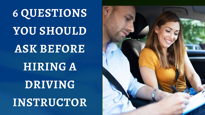 asking questions before Choosing Your Driving Instructor